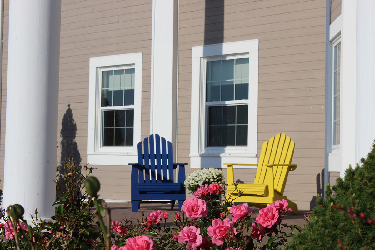 Adirondack Chairs - Annapolis Basin Conference Centre